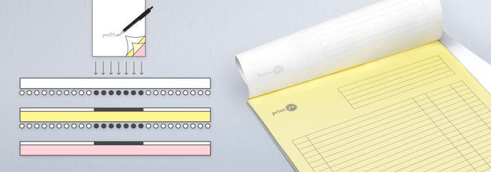 NCR pads and paper printing - Online at print24