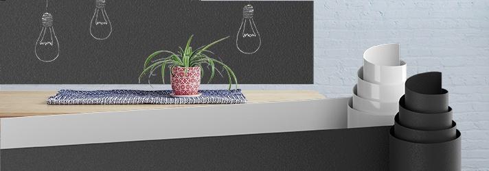 Dekofolien und Wandfolien - für den Einsatz in der Raumgestaltung