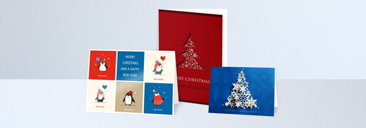 Christmas cards printing - Online at print24