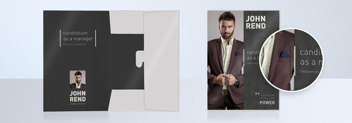 Bewerbungsmappen bedrucken lassen - In verschiedenen Ausführungen bei print24