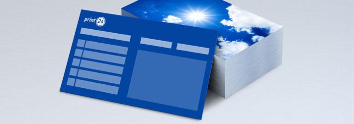 Terminzettel &Terminkarten für Ihr Unternehmen oder die Arztpraxis drucken lassen - Druckerei print24