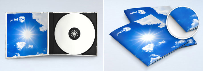 Booklet per CD & DVD da stampare - Online su print24