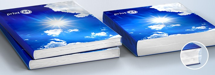 Individually shrink-wrapped books - shrink-wrap for protection print24