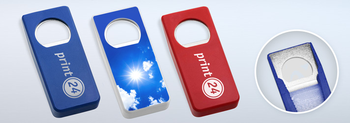 Printed bottle openers - Online at print24
