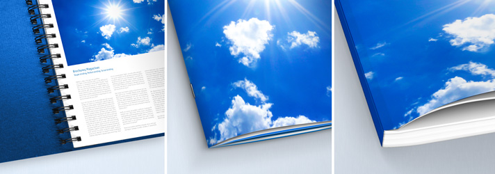 Prospekte online erstellen, professionell drucken und binden lassen bei print24