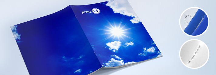 Create brochures with staple binding online - Cheap at print24
