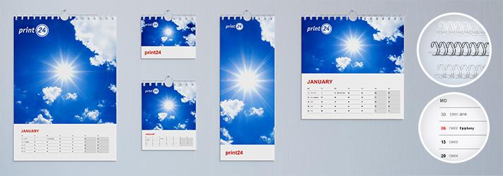 Kalender drucken lassen – Online-Druckerei print24