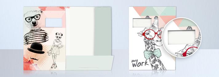 Zeichenmappen bedrucken lassen - In verschiedenen Ausführungen bei print24