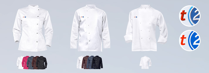 Kochjacken bedrucken oder besticken - Online-Druckerei print24