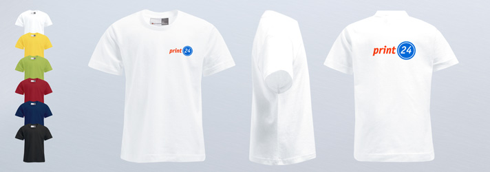 Quality personalised kids T-shirts printing - Online at print24