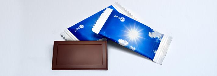 Impresión de envoltorios de chocolate - Imprenta Online print24