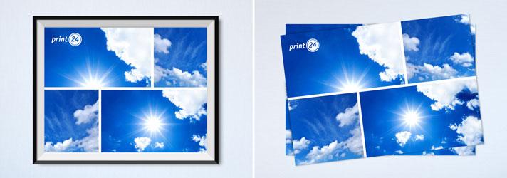 Fotocollage erstellen & günstig drucken lassen - Online-Druckerei print24