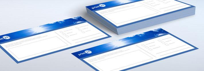 Kurzbriefe drucken lassen - Online-Druckerei print24
