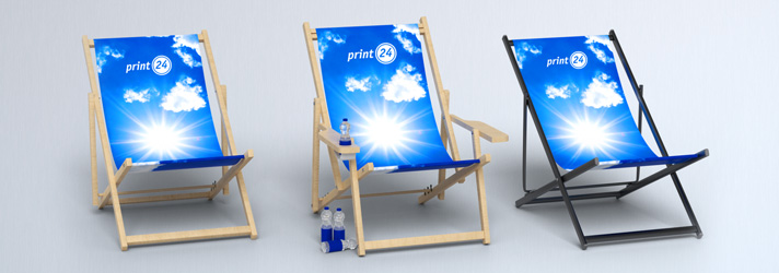Design deck chairs individually - different versions