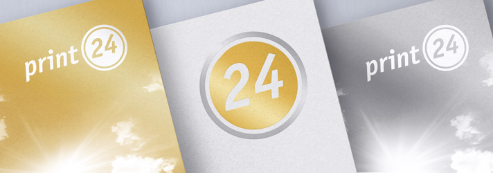 Gold and Silver - Digital printing at print24