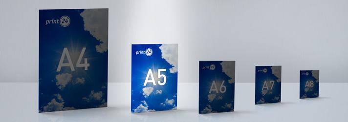 A5 Flyer und Falzflyer drucken lassen - Online-Druckerei print24