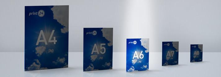 A6 Flyer drucken lassen - Online-Druckerei print24