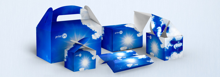 Have Lunchbox, Loop packing, Junk box and Pillow box printed - Online-printer print24