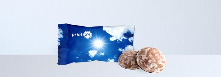 Lebkuchen bedrucken lassen - Online-Druckerei print24