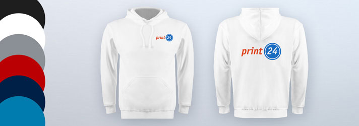 Personalised printed hoodies for men - Online at print24