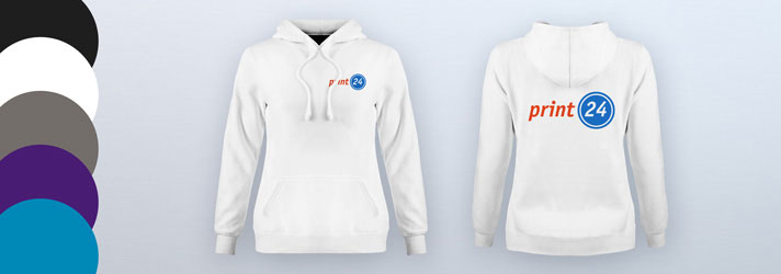 Create hoodies for women online - Cheap at print24
