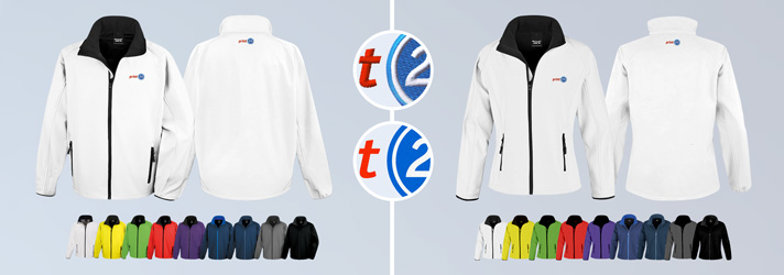 Softshell jackets printed or embroidered - Online at print24