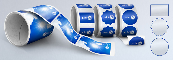 Label printing - Online at print24