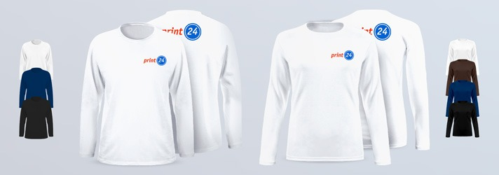 Longsleeves Premium for men and women - Online at print24