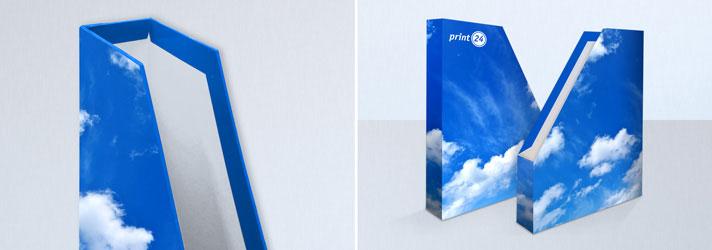 Stehsammler bedrucken lassen - Online-Druckerei print24
