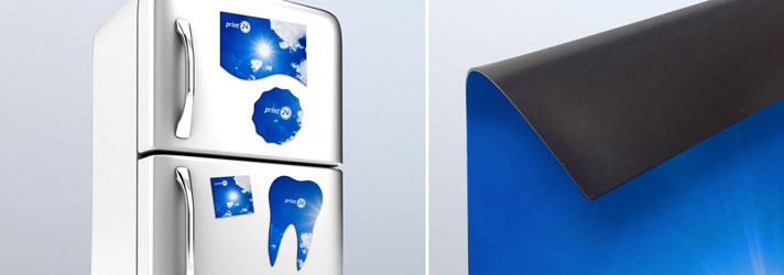 Magnetic foil for fridges printed in any shape - print24