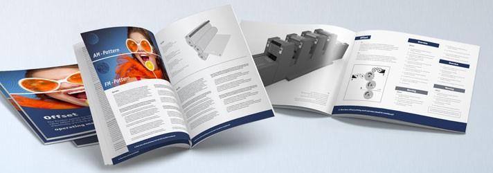 Bedienungsanleitungen und Handbücher drucken lassen in verschiedenen Formaten - Online-Druckerei print24