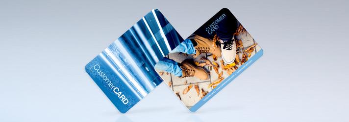 Kundenkarten drucken lassen - Online-Druckerei print24