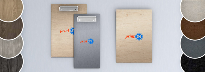 Clipboard menu printing in various formats - Online printing company print24