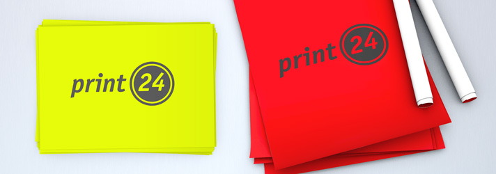 Neon-Plakate erstellen & drucken lassen - Günstig bei Online-Druckerei print24