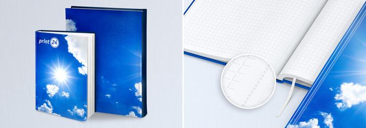Personalisiertes Notizbuch drucken lassen - Online-Druckerei print24