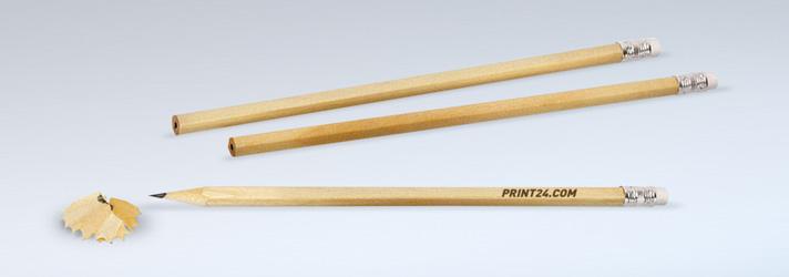 Bleistifte bedrucken lassen - Online-Druckerei print24