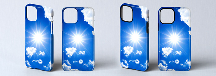 Personalised iPhone photo case and cover printing - Online at print24