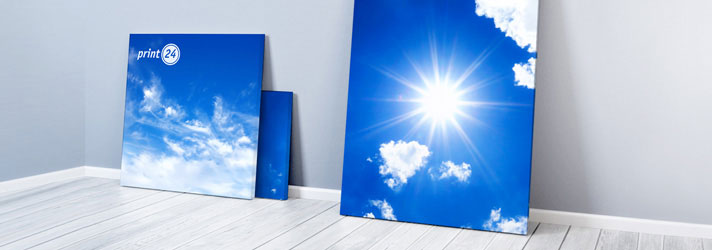 Photo canvas printing - Online at print24