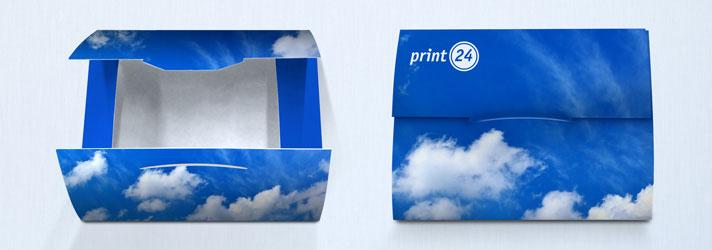 Créer des enveloppes cartonnées personnalisées en ligne à moindre coût chez l'imprimeur print24