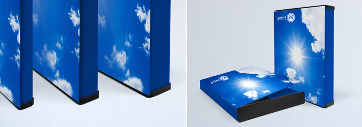 Printed document folders - Online at print24