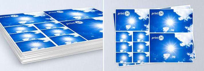 Hochwertige Druckbögen bestellen - Günstig bei der Online-Druckerei print24