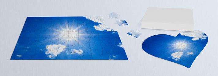 Persönliches Puzzle drucken lassen - Tolle Geschenkidee mit Fotodruck bei print24