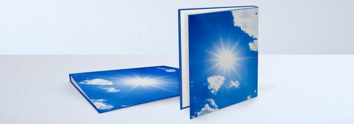 Carpeta con anillas con impresión personalizada - Imprenta Online print24
