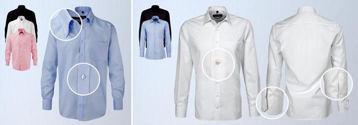 Personnalisez vos chemises en les brodant en ligne sur print24