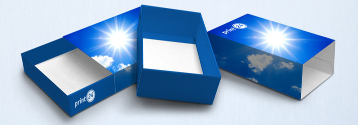 Personalised sleeve box printing - Online at print24