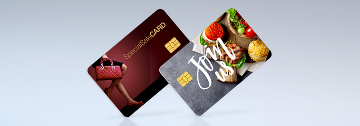 Personalizza smart card da stampare - Online su print24