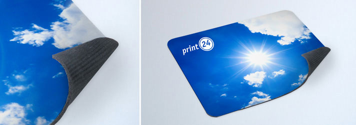 Personalised mouse mats printing - Online at print24