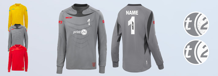 Personalised goalkeeper jersey - Online at print24