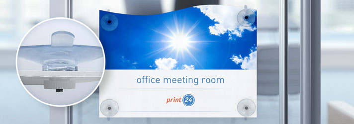 Print signs with suction cups online - Order at affordable prices at print24
