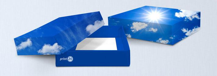 Stülpboxen bedrucken lassen - Online-Druckerei print24